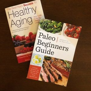 2/$20💥SALE💥2 Books - Healthy Aging/Paleo Guide